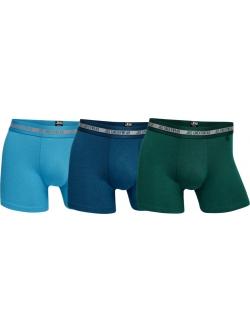 JBS 3-pak bambus underbukser i turkis, grøn og blå til herre