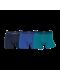 JBS 3-pak bambus underbukser i mørkeblå, blå og turkis til herre