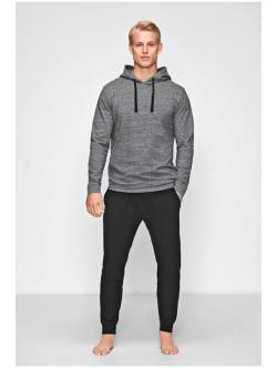 JBS of Denmark hoodie, Lys grå melange