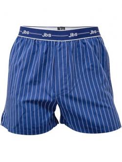 JBS boksershorts med klassiske striber i blå til herre