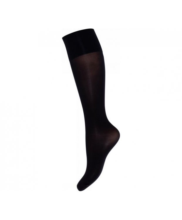 Decoy - 2pak knæstrømper i sort, 20 denier perfect fit til kvinder