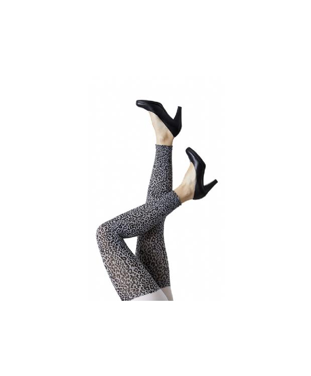 Festival Amelie leo leggings, 70 denier i grå til kvinder