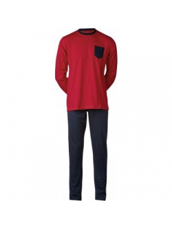 JBS pyjamas jersey i rød til herre