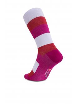 iZ Sock bambusstrømper med tykke striber i multifarver