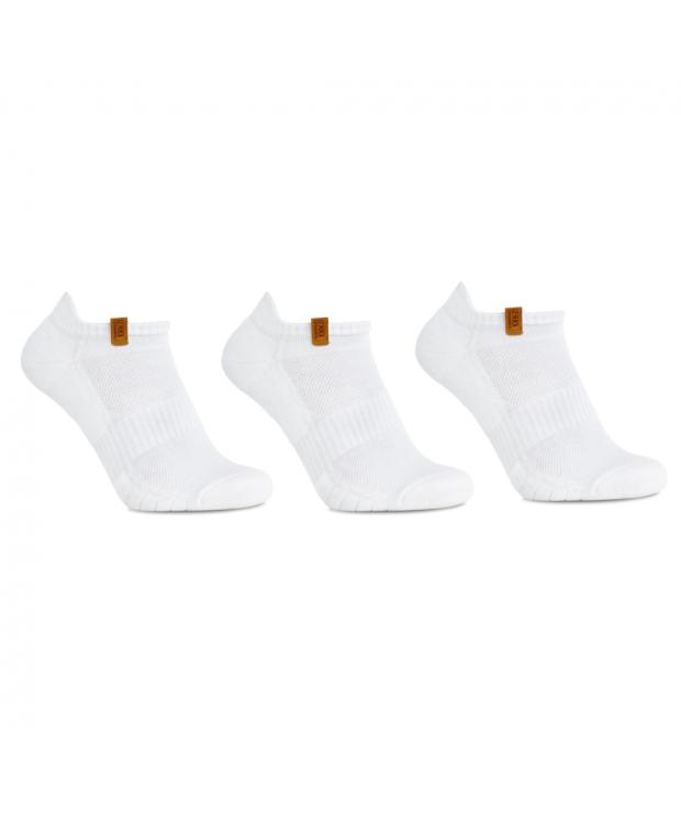 iZ Sock 3pak bomuld ankelstrømper i hvid ( NY KOLLEKTION )