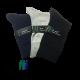 iZ Sock - 3 pak bambusstrømper i navyblå, sort og lysegrå. Unisex