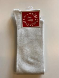 Sokker fra Sizesock i hvid farve Spar 50%