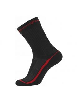 ProActive 3-pak funktionsstrømper i sort med røde striber