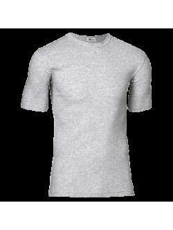JBS bomulds t-shirt i meleret grå til herre