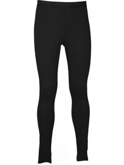 Lange underbukser fra ProActive i sort med blå syninger