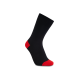 iZ Sock - bambusstrømper i rød hæl og tå til børn