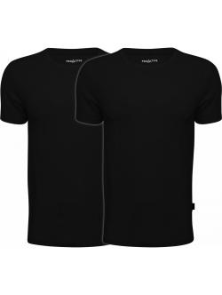 ProActive T-shirts 2-pack bambus i sort.