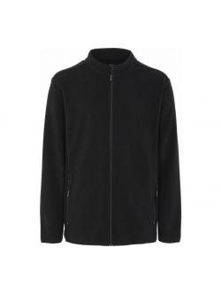 ProActive Fleece jakke Recycled polyester, Sort