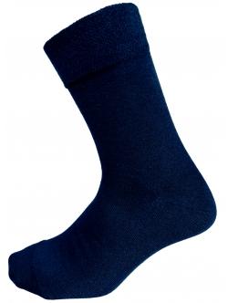 Bambus Strømper,  Comfort Diabetic Sokker i Mørkeblå. Unisex