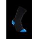iZ Sock - bambusstrømper i sort og blå . Unisex