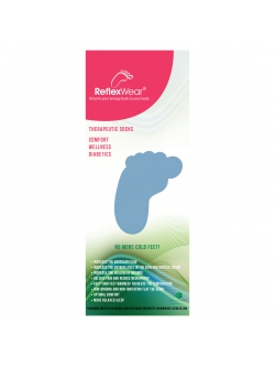 ReflexWear® Comfort & Diabetes tykke strømper i sort. Unisex