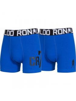 CR7 Boy's Trunk 2-pak i blå til herre.