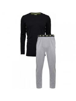 CR7, bomuld Pyjamas i sort til mænd