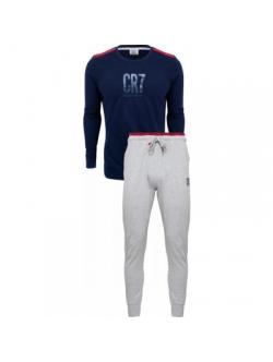 CR7, bomuld Pyjamas i Navy til mænd