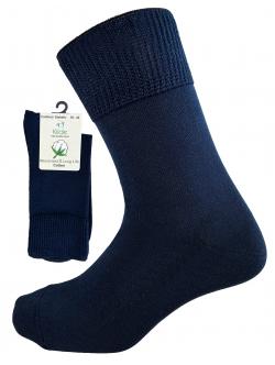 Comfort Diabetic Sokker i Mørkeblå. Unisex