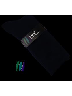 iZ Sock - bomuldsstrømper i sort. Unisex