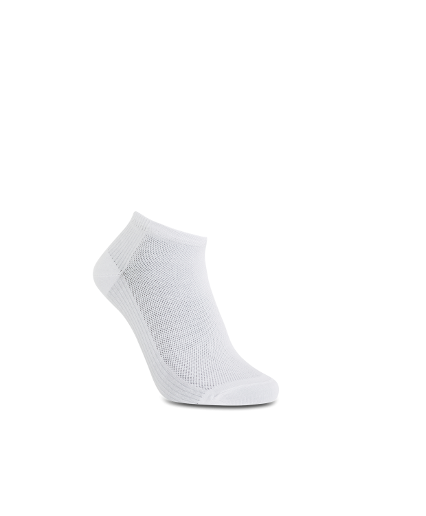 iZ Sock - bambus ankelstrømper i hvid. Unisex