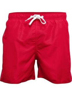 JBS klassiske badeshorts i rød til herre