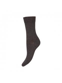 Decoy bomuldsstrømper soft i grå til kvinder