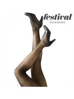 Festival AMELIE 15 denier microfiber 3D, Festival. Farverne: black, naturale, lyon, grey, marine