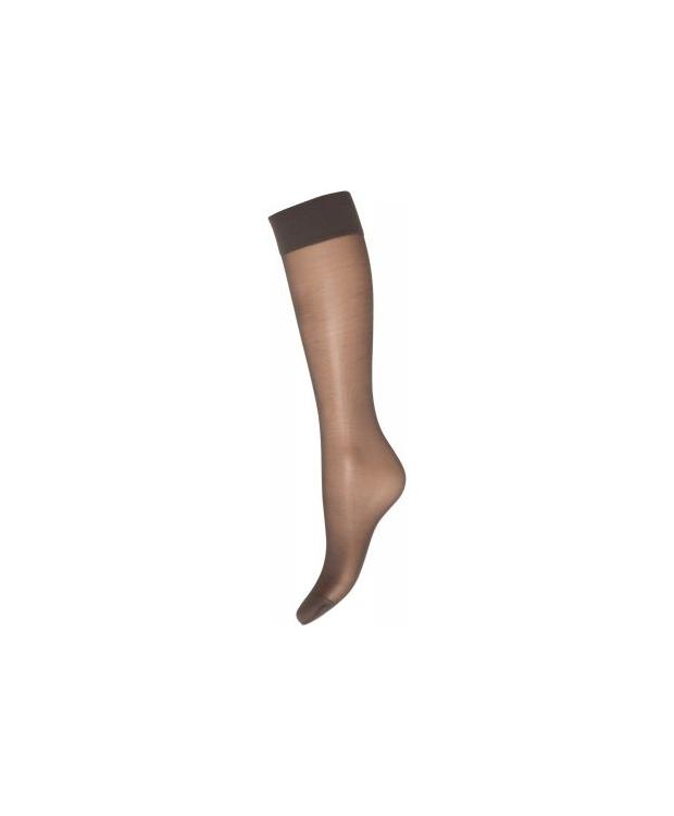 Strømper knæhøje. 2-pak Silklook.20 Denier-Sort.Decoy