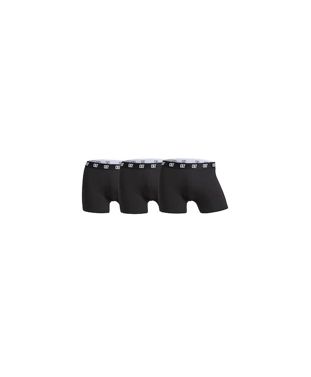 CR7 Basic – Mens Trunk 3-pak sort. Str. S til 2XL