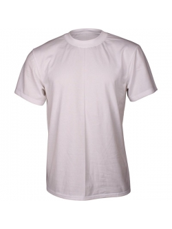 Dovre 650 bomulds T-shirt i hvid med rund hals til herre