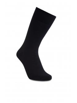 iZ Sock bambus & uld strømpe i sort til unisex