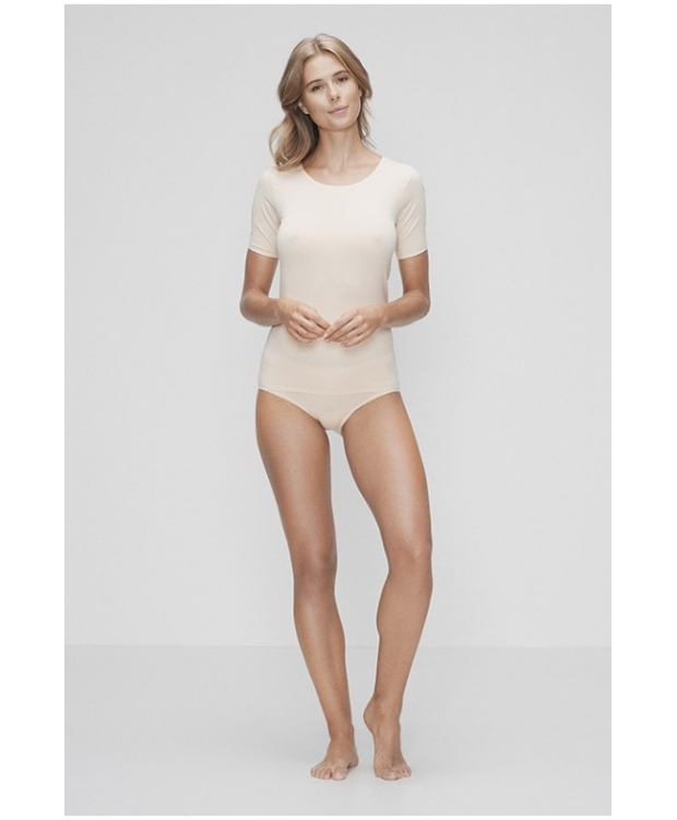 JBS OF DENMARK T-SHIRT RECYCLED POLYESTER, NUDE