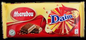 Image of   Chokolade, 150 g. Marabou m. Daim.