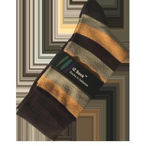 iZ Sock, Bambus modestrømper med striber.