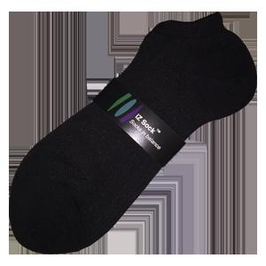 Image of   Ankelstrømpe fra iZ Sock, sort - Str. 44 - 47