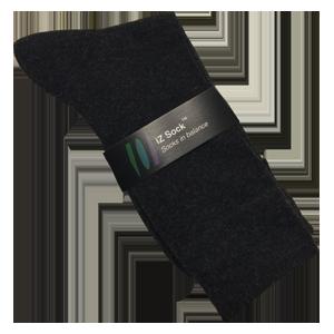 Lækre uldsokker, sorte. iZ Sock. 44 – 47