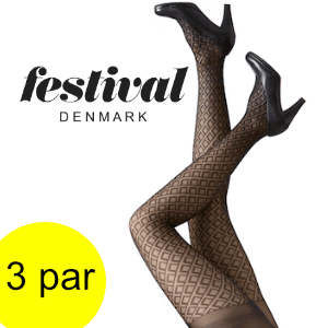 Image of   FESTIVAL FRIDA 30 denier tight. 3 par