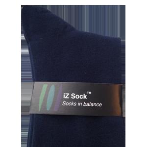 mørkeblå bambus sokker