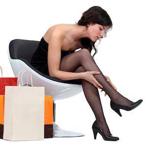 trænge ind kvinder i nylonstrømper