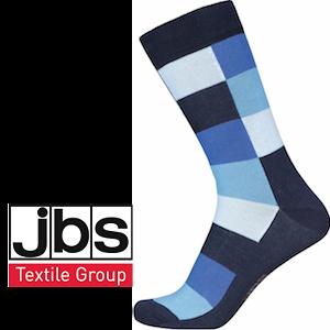 Image of   JBS strømper - Smarte blå tern