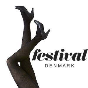 Image of   Festival strømpebukser, Flora Tights 40D.