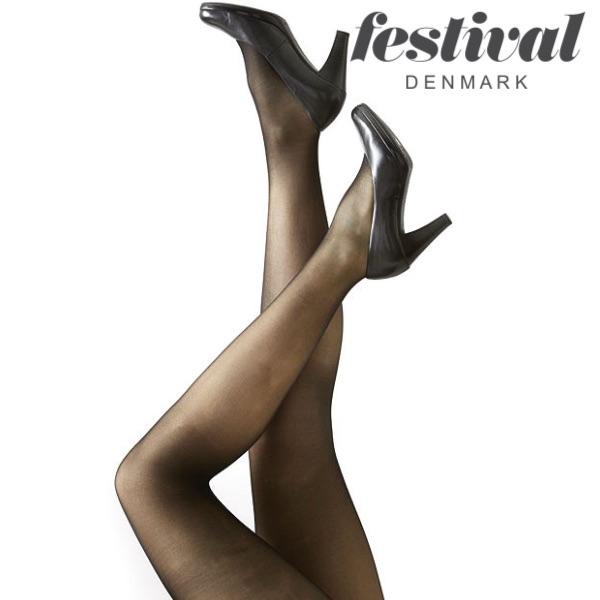 Image of   AMELIE 15 denier microfiber 3D, Festival. Farverne: black, naturale, lyon, grey, marine