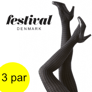 FESTIVAL ERIKA 70 denier microfiber tight. 3 Par.