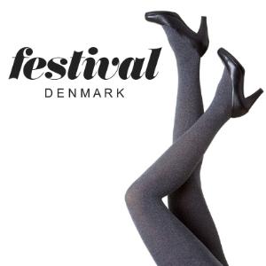 Image of   OUTLET - Flotte grå strømpebukser - Festival.