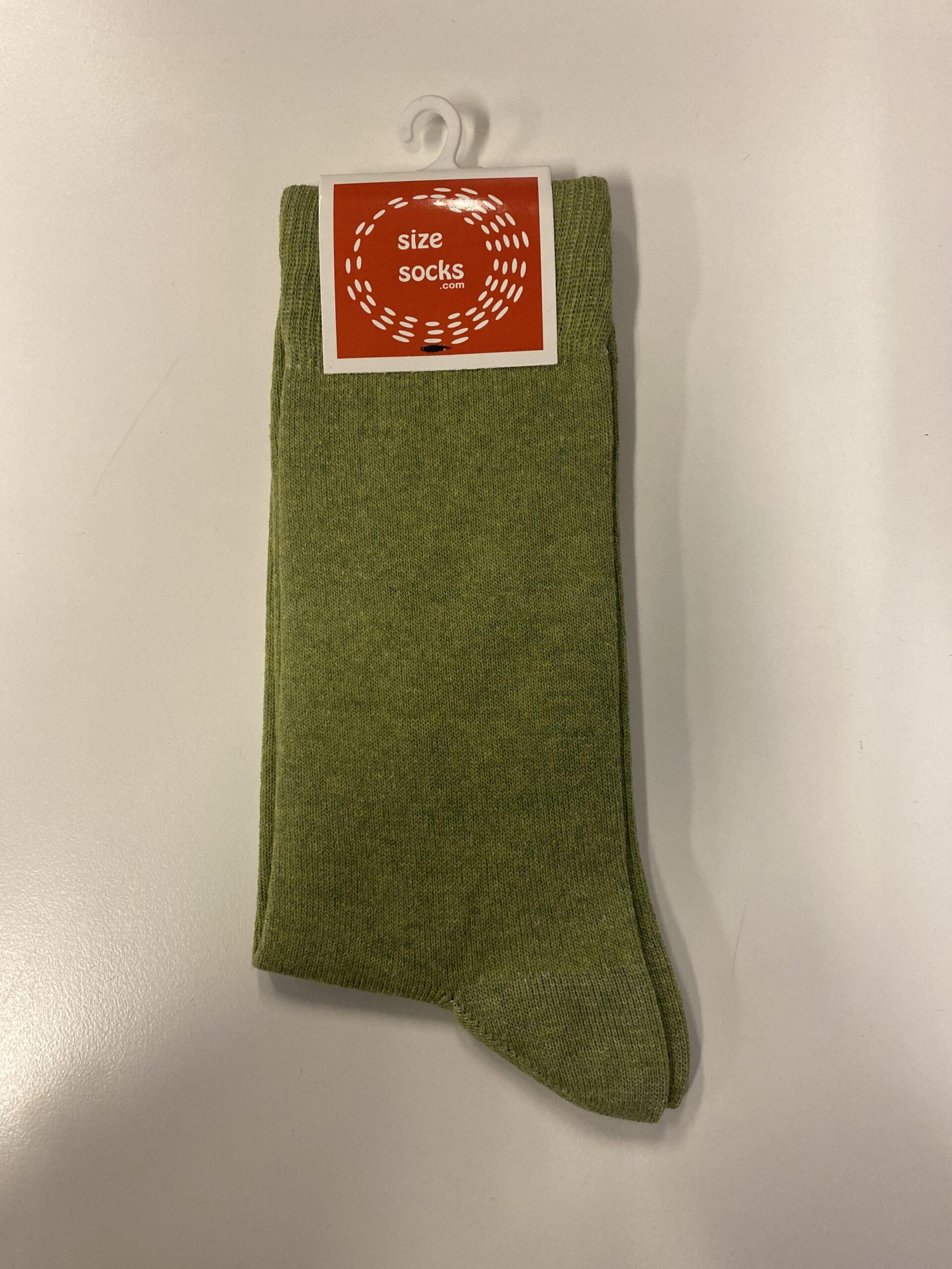 Grønne strømper Str. 47-50 fra size-socks (Billigste)